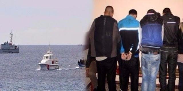 المهدية : القبض على شبكة مختصة في اجتياز الحدود البحرية خلسة