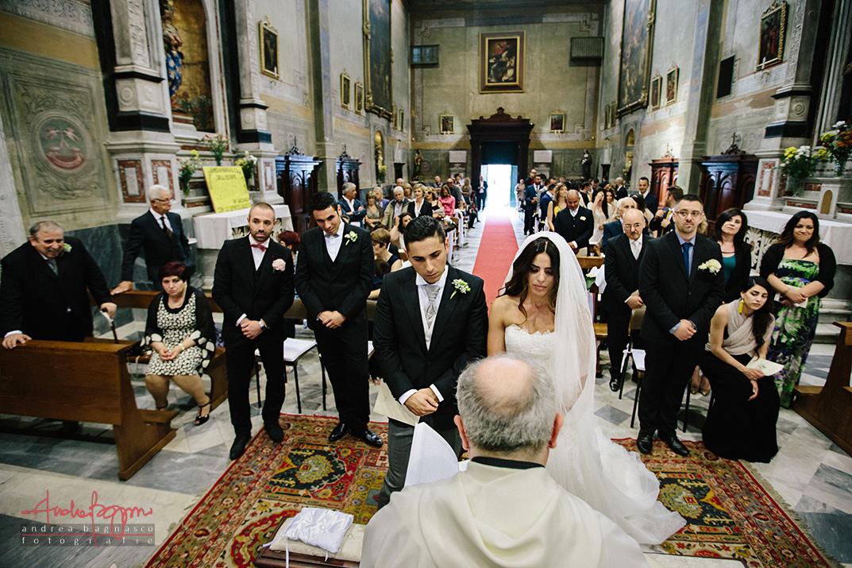 benedizione sposi matrimonio Genova