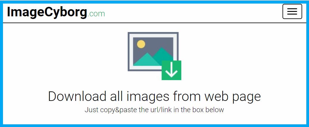 Image Cyborg 網頁圖片下載工具