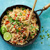 Fajita chicken fried rice