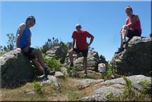 Malkorra mendiaren gailurra 1.246 m. -- 2017ko ekainaren 18an