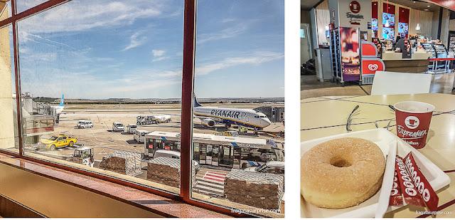 Conexão no Aeroporto Madri-Barajas