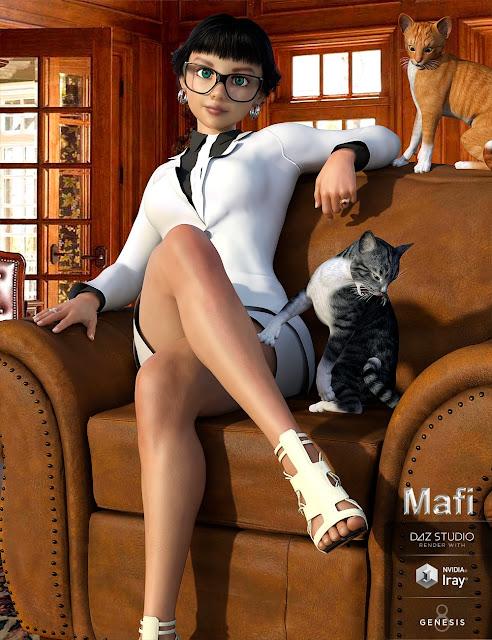 Mafi for Genesis 8 Female