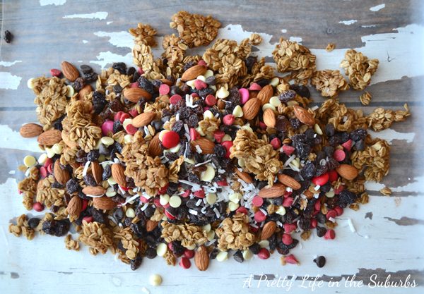 Brown Sugar Baked Granola & Trail Mix