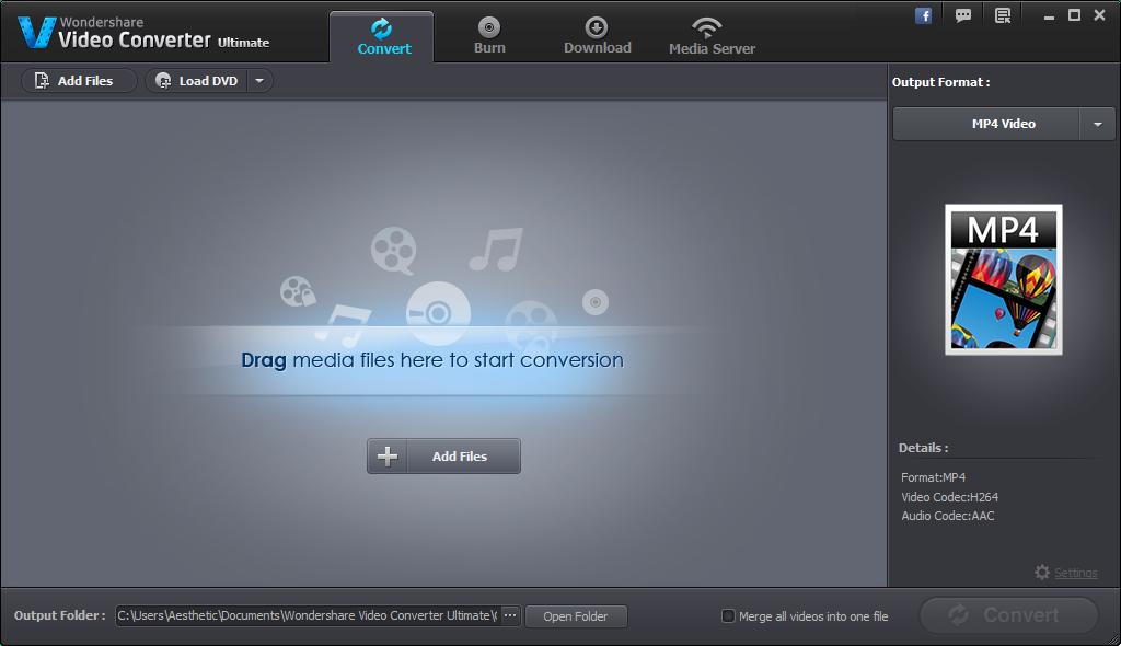 Wondershare Video Converter Ultimate 8.3.0.2 + Key