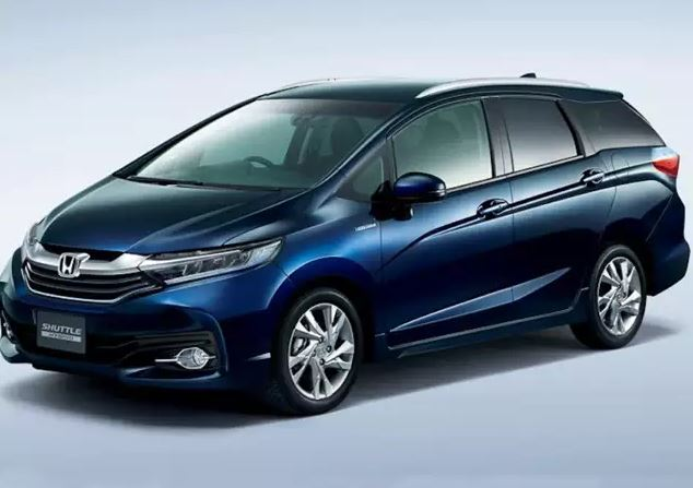 Honda Shuttle Hybrid Side View