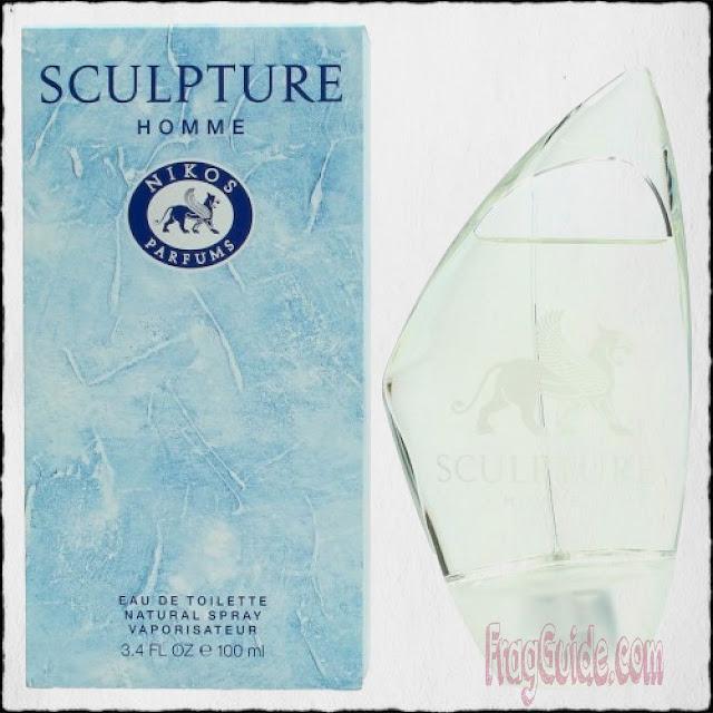 عطر سكلبتشر Sculpture الرجالي من نيكوس Nikos | هذا العطر كآلة الزمن