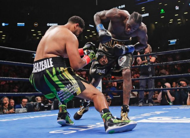 Deontay Wilder Knocks Out Dominic Breazeale