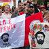 Comemoração toma conta da Vigília Lula Livre nesta noite em Curitiba