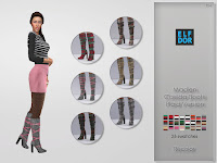 Madlen Casilda Boots Plaid Recolor