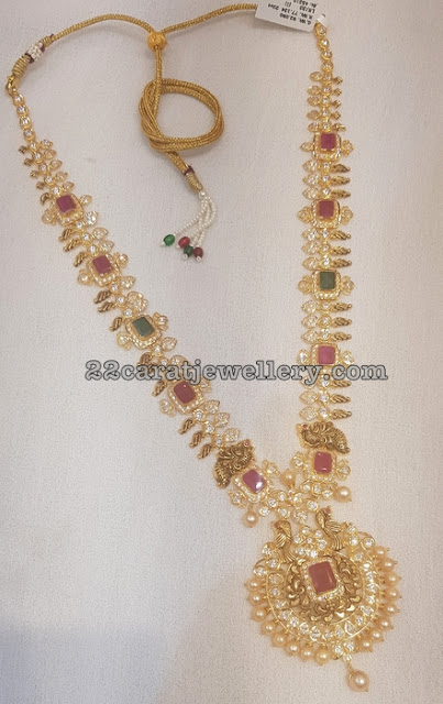 CZ Floral Long Sets by Mahalaxmi Jewellers