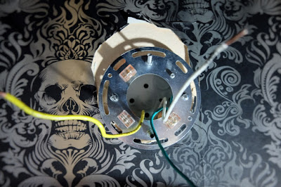 reversed installation bracket plug play wiring wall mount
