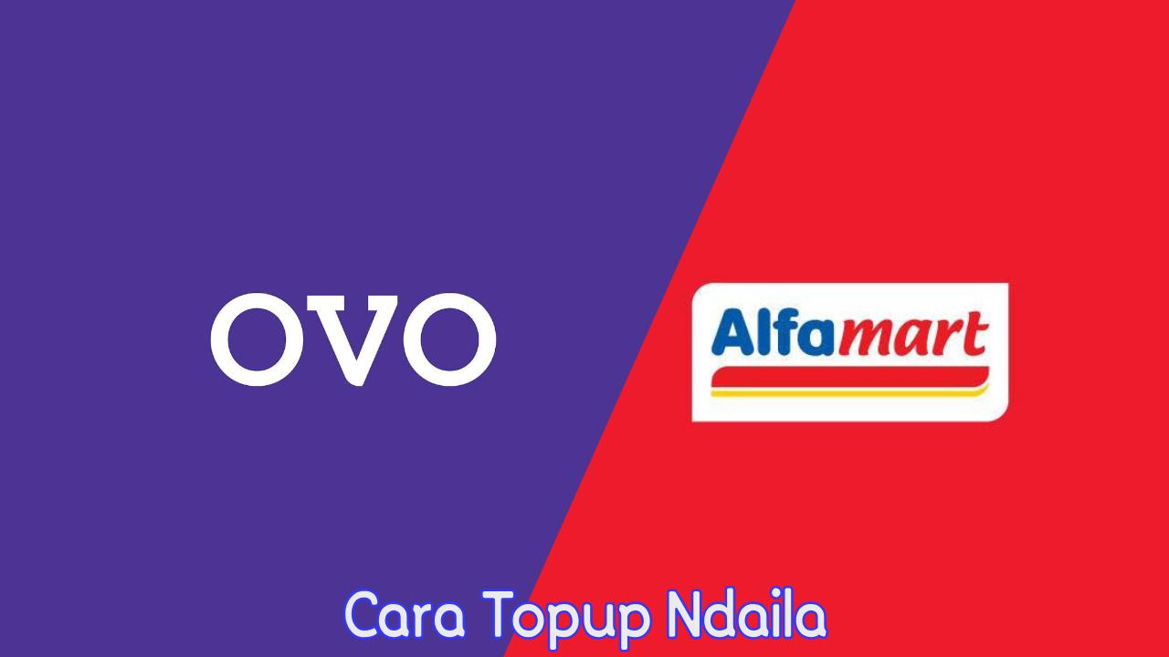 Cara Topup OVO di Alfamart terbaru