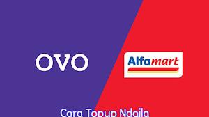 Cara Top up OVO di Alfamart Terbaru