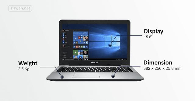 Semakin Produktif dengan Laptop ASUS X555