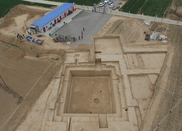 Ancient noble's tomb unearthed in north China