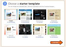 Blogging template
