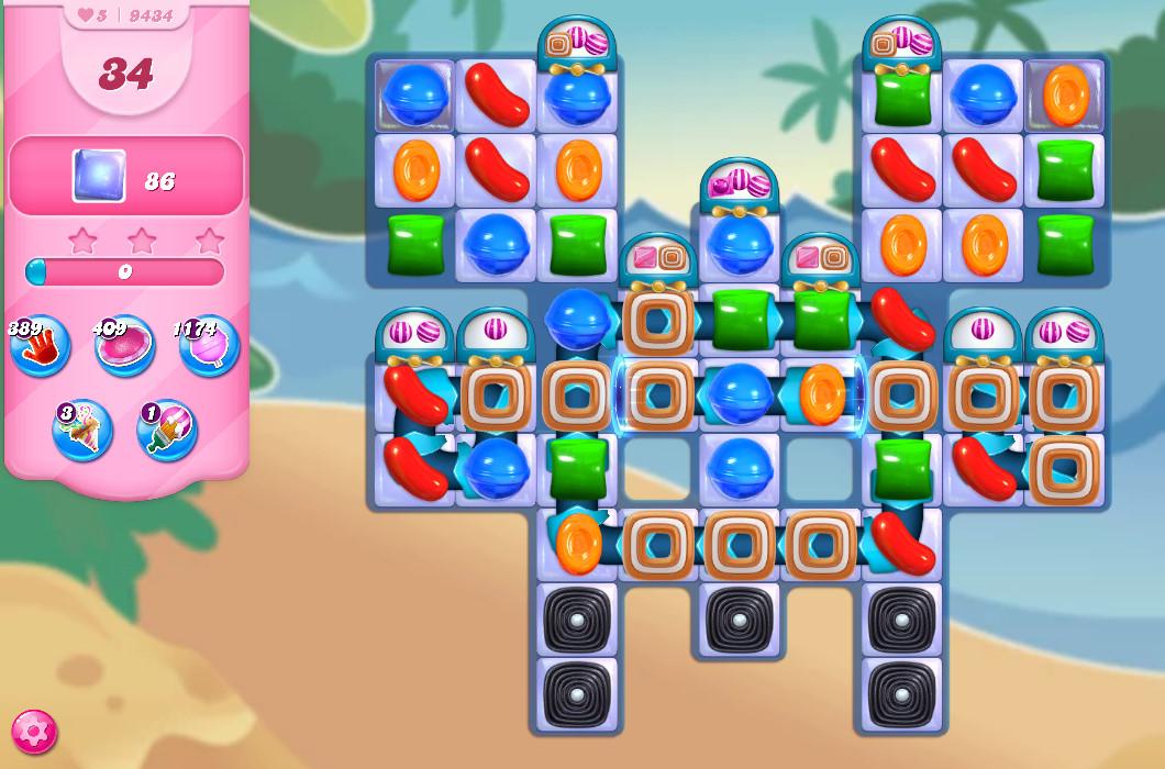 Candy Crush Saga level 9434