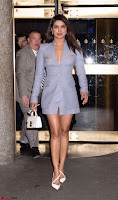 Priyanka Chopra in Short Formal Deep neck Dress in New York ~  Exclusive Pics 004.jpg