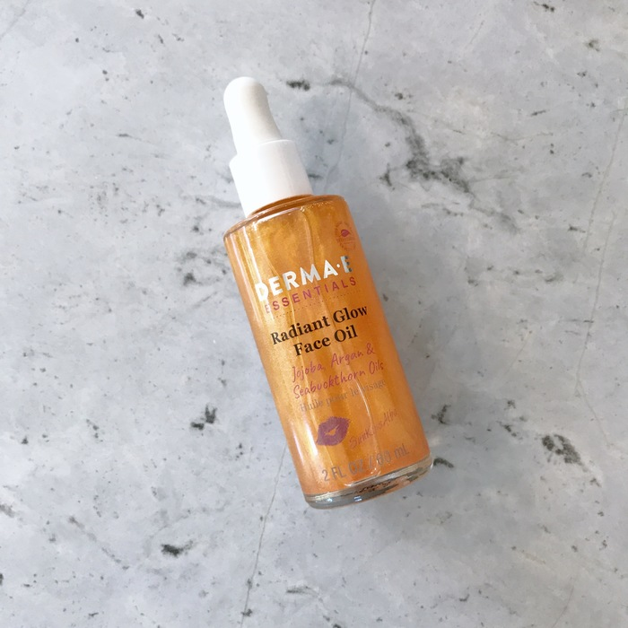 Derma-E radiant glow face oil