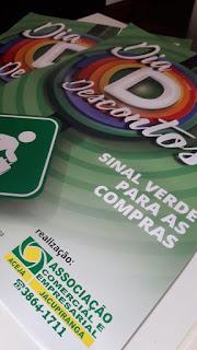 CAMPANHA PROMOCIONAL EM JACUPIRANGA  OFERECE DESCONTOS E SORTEIA PREMIOS