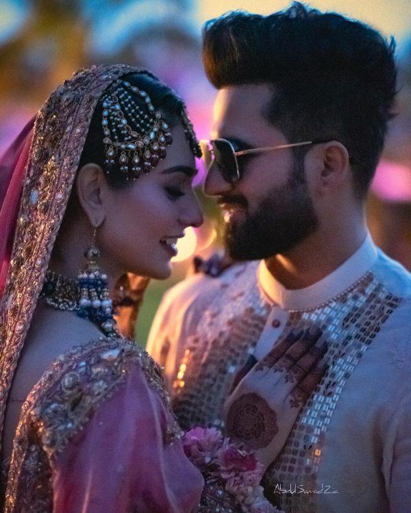 New HD Pictures of Sarah Khan and Falak Shabir Wedding