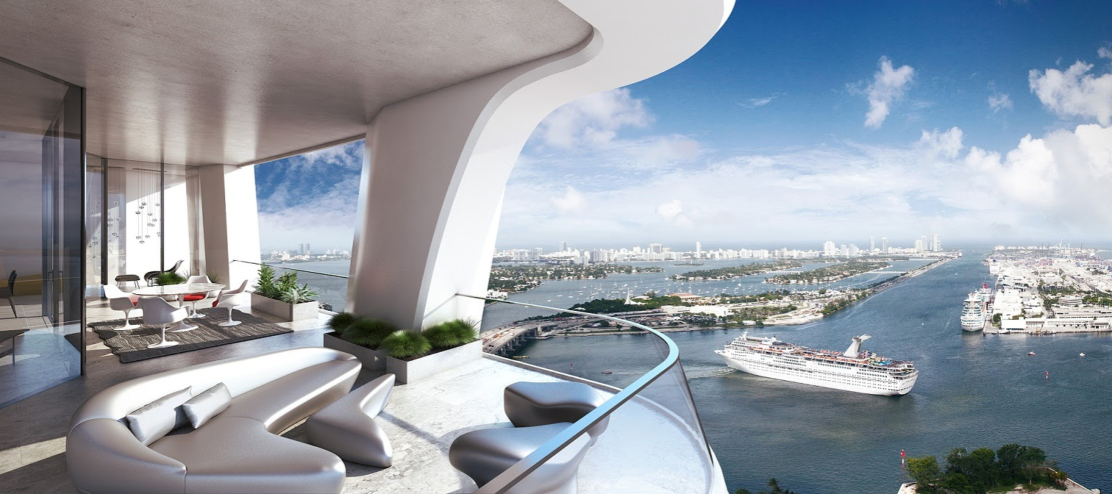 Zaha Hadid Design Project 1000 Museum In Miami Beach Usa