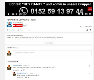 daniel Trading binäre optionen danke youtube whatsapp