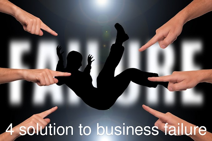 4 Solution to business failure