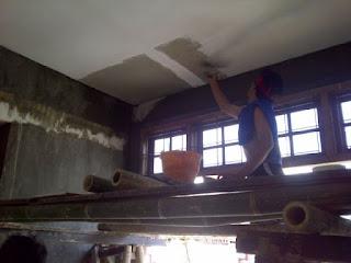 jasa plamir dinding rumah malang