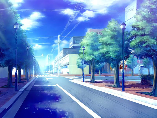 Nice City Street (Anime Landscape)