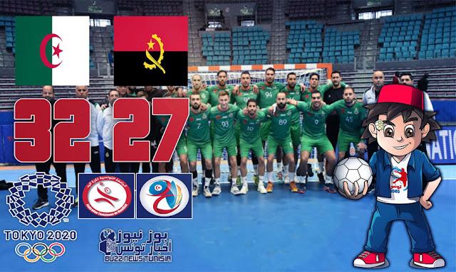 كأس افريقيا لكرة اليد: المنتخب الجزائري يفوز بالمركز الثالث أمم أنغولا ويتأهل لتصفيات الأولمبياد طوكيو 2020