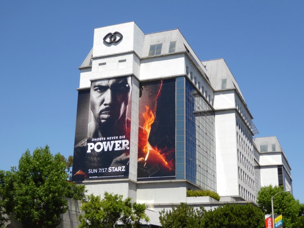Power season 3 Starz billboard
