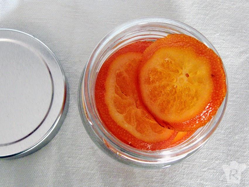 mandarina confitada