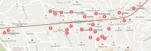Pick up bars seoul nightlife Where To
