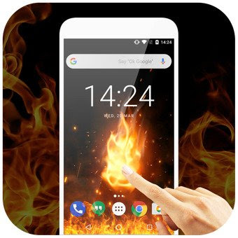 3D Flame Live Wallpaper Apk For Android