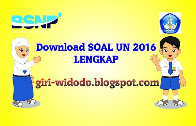 Download Soal Un Smp 2016 Lengkap Giri Widodo