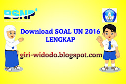 Download Soal UN SMP 2016 Lengkap
