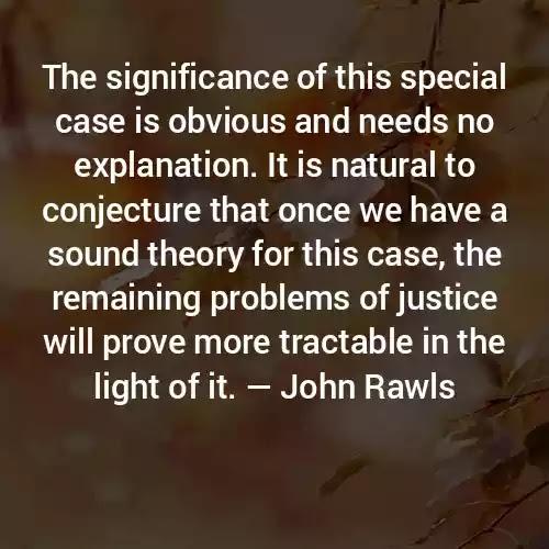 Quotes of John Rawls