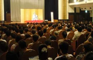 三遊亭楽春講演会「笑いは健康の良薬」