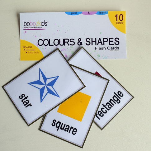 Colours and Shapes Flash Cards  for Toddlers in Port Harcourt, Nigeria