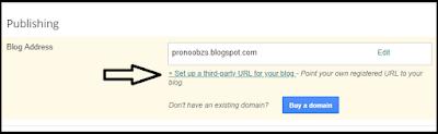 Mengubah Domain Blogspot Menjadi TLD