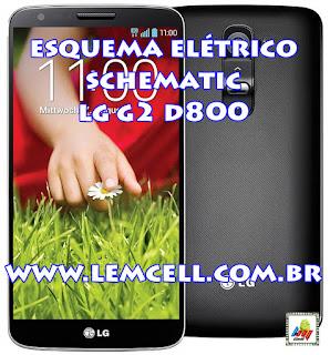 Esquema Elétrico Celular Smartphone LG G2 D800Manual de Serviço  Service Manual schematic Diagram Cell Phone Smartphone LG G2 D800