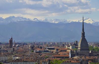 Torino-Mole Antonelliana-montagne