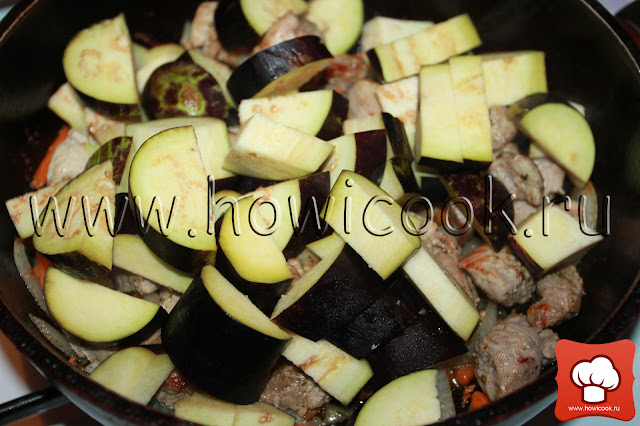 рецепт вкусного мясного рагу с мясом и овощами с пошаговыми фото