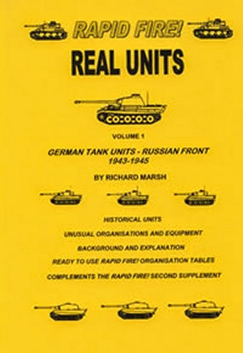 Rapid Fire German Tank Units - Russian Front 1943 - 1945