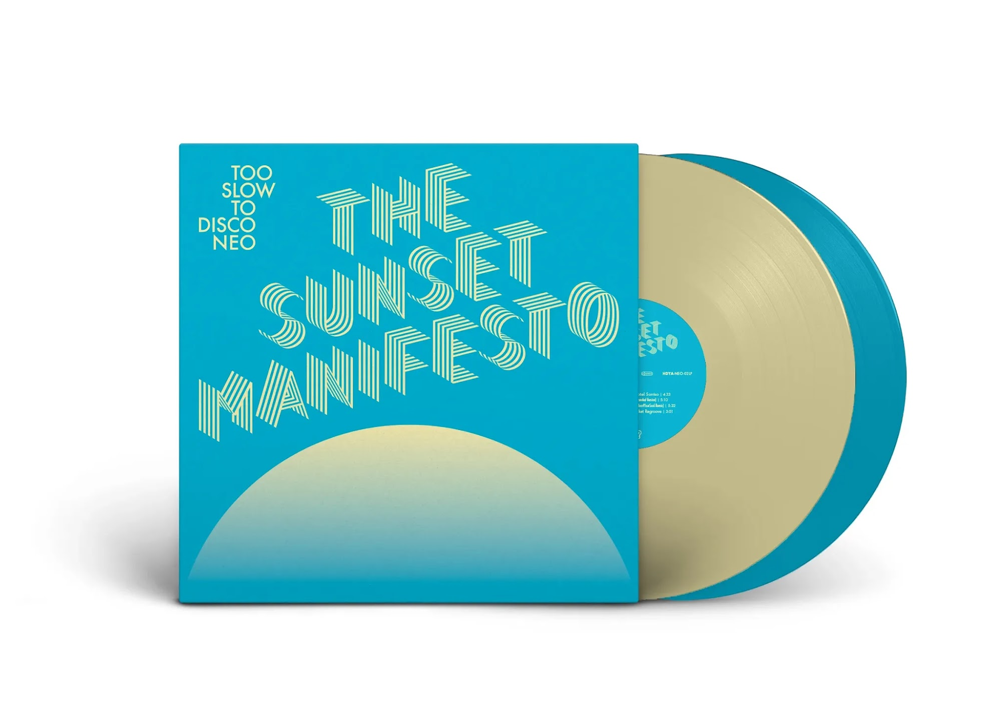 Too Slow To Disco Neo | The Sunset Manifesto | Minimix & Vinyltipp