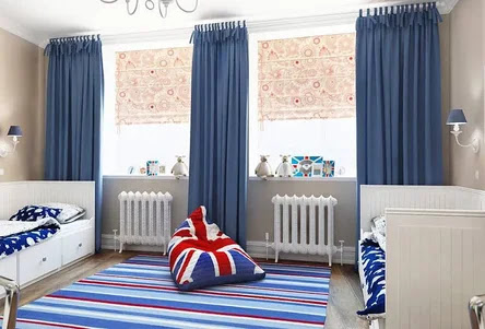interior english style room for a child