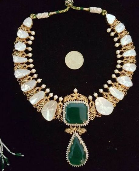 Big Size Flat Diamond Jewellery