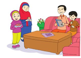 Siti tinggal bersama ayah, ibu, dan Ali www.simplenews.me